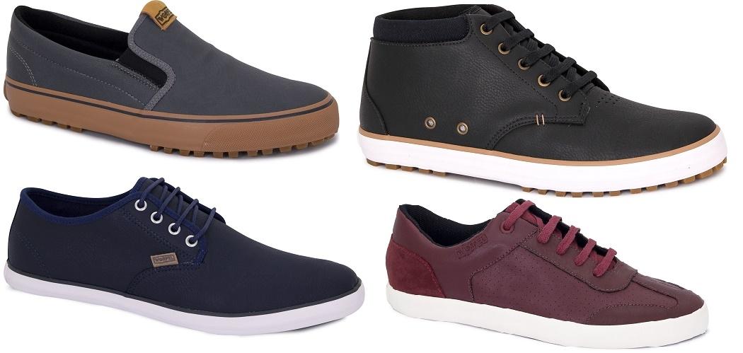 861f23084 A Worpel, do Grupo Sugar Shoes, desenvolve tênis e abotinados voltados para  o público masculino. Fotos Divulgação